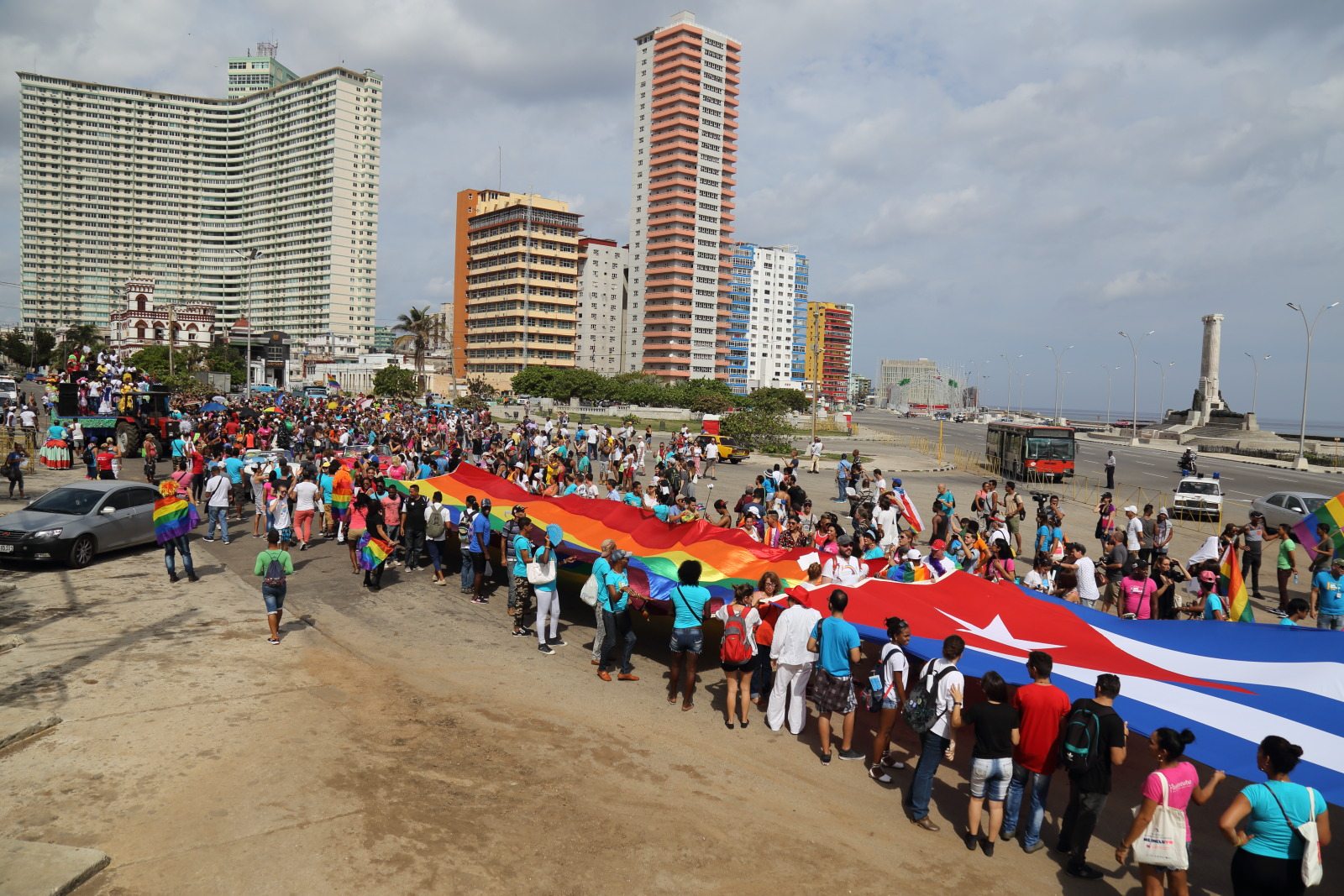 Havana's 2017 Parade against Homophobia