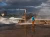 As the rain ends by Bill Klipp
