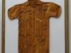 Wooden guayabera