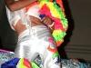 Bailarines de la carroza Ceiba de Plata