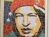0019 Pinturas de Martí, Bolívar y Chávez, donadas a la Casa Museo Simón Bolívar.