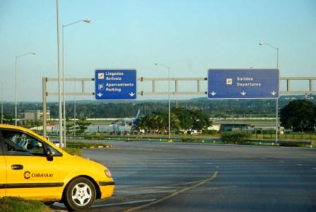 Havana's International Airport.  Photo: Caridad