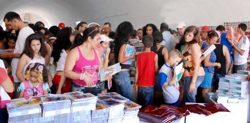 La feria del libro en La Habana.  Foto: Caridad