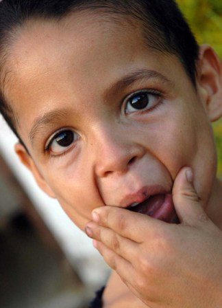 Niño Cubano.  Foto: Caridad