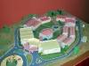 Scale model of San Carlos y San Ambrosio Seminary.