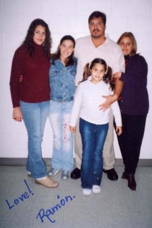 Ramon Labanino y familia.