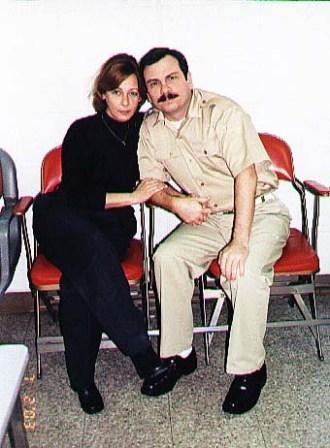 Fernando Gonzalez y su esposa.