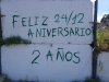 Graffiti on the Via Blanca Avenue 3