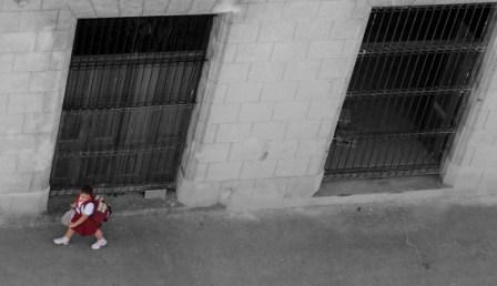 Estudiante en La Habana.  Foto: Caridad