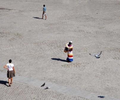 Plaza en La Habana Vieja.  Foto: Caridad