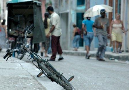 Calle de La Habana.  Foto: Caridad