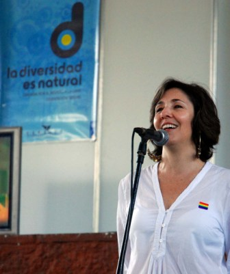 Mariela Castro, director of the National Center for Sexual Education (CENESEX). Photo: Caridad