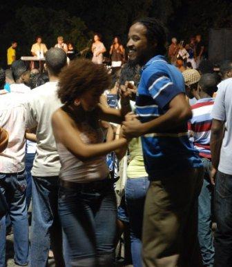 Bailando en la Habana Vieja