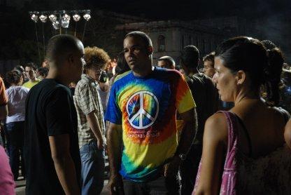Concierto en La Habana.  Foto: Caridad