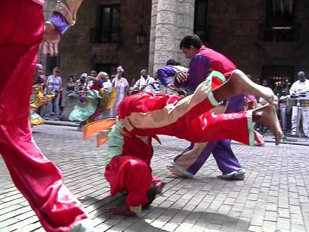 15th International Dance in Urban Spaces Festival, Havana 2010