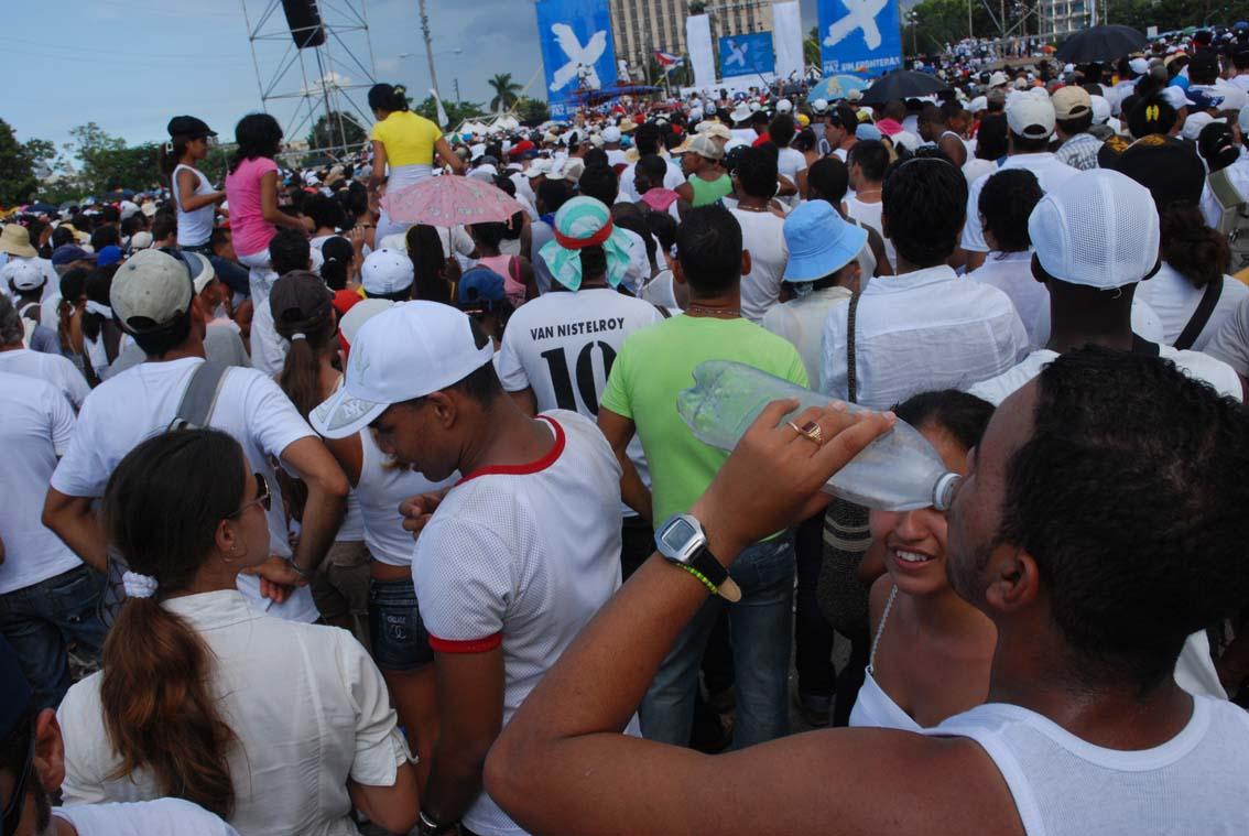 Concierto Paz sin Fronteras, 20 de Septiembre en La Habana.  Foto: Caridad