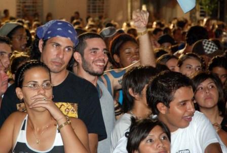 Concierto de Manu Chao en La Habana.  Foto: Caridad