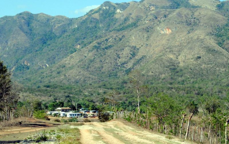 Ein kleines Dorf in Kuba mit 190 Einwohnern