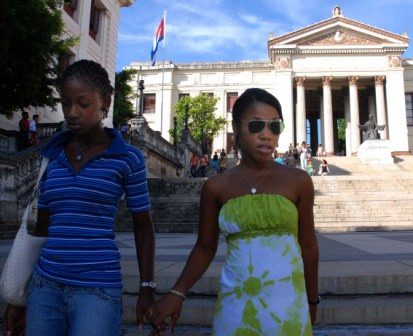 Universidad de La Habana.  Foto: Caridad