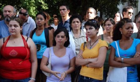Estudiantes universitarios cubanos.  Foto: Caridad