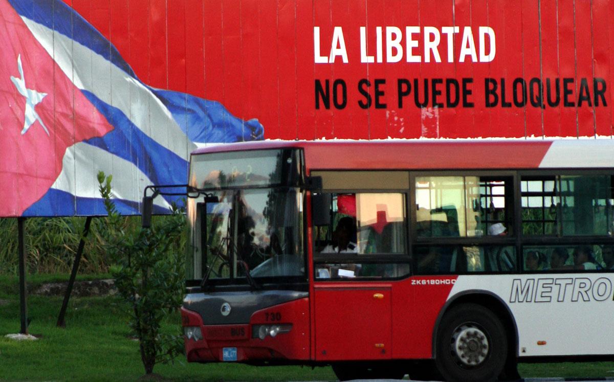 Libertad vs. Bloqueo.  Orlando Luis Pardo