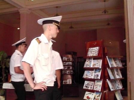 Russian School-Ship Visits in Cuba