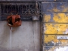 Bag hanging from a window, Havana.  Photo by James NG