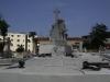 026 Scultpured monument.