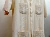 Short sleeve guayabera with embroidery