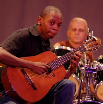 Maykel Elizarde and his love, the Cuban Tres guitar