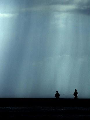 Pescando.  Foto: Caridad