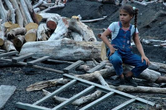 Niña cubana.  Foto: Caridad