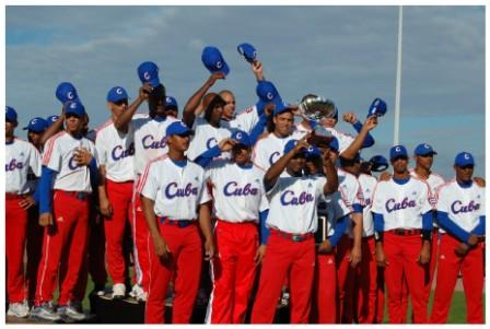Team Cuba at the Haarlem tournament last July