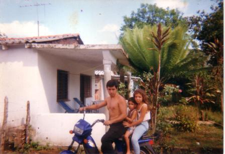 Dagoberto Mojena near his house in Viñales, Cuba