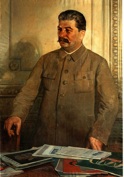 """Stalin's """"cult of personality"""" is """"old well-dried shit,"""" as German-American writer Charles Bukowski once said."""
