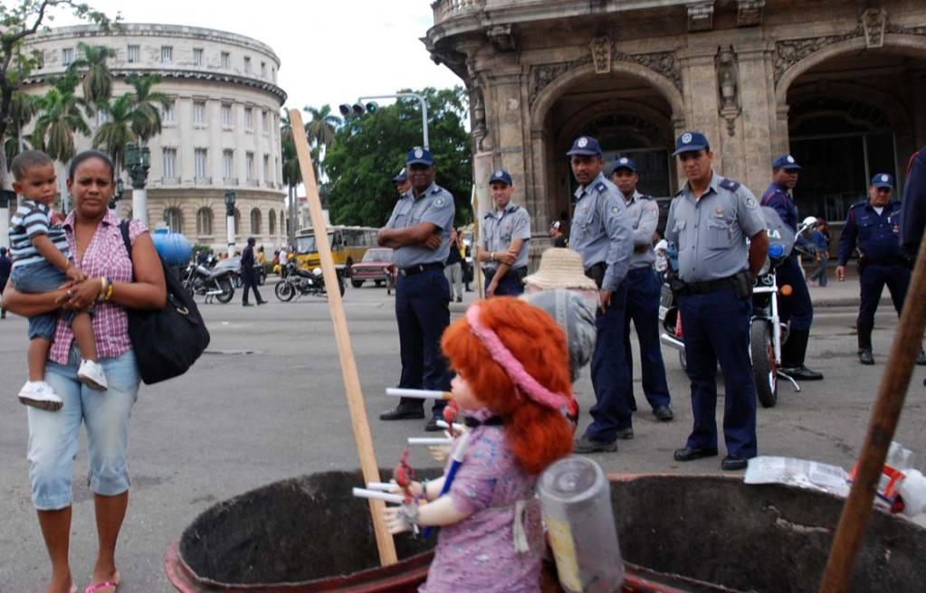 Trabajos dificiles.  Photo: Caridad