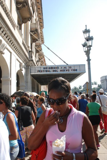 El Cine Payret de la Habana.