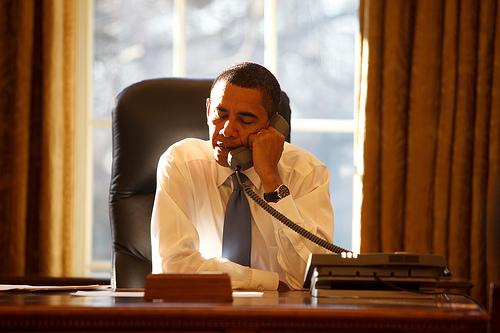 Obama en la Casa Blanca.