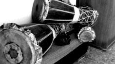 Bata drums.