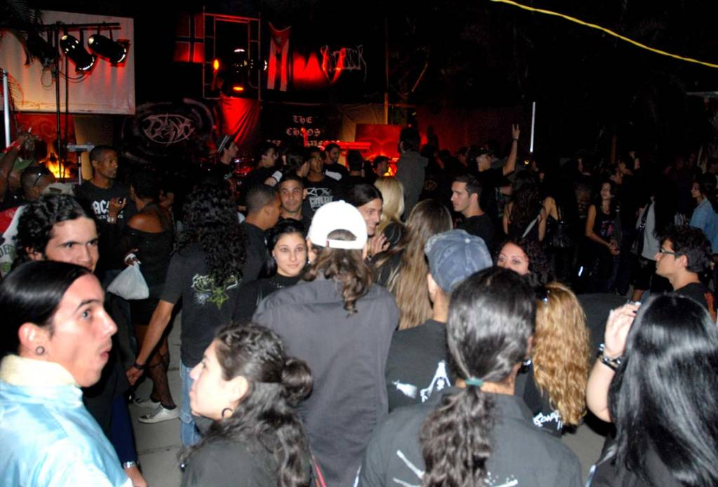 Festival de Rock duro en La Habana.