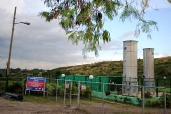 La planta de biogas en el vertedero de Calle 100.