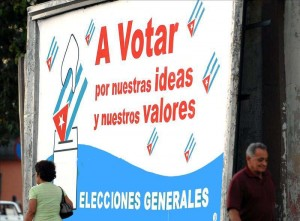 Billboard: Vote for our ideas and our values. photo: radioangulo.cu