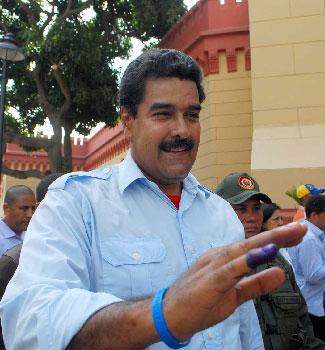 Maduro gana las elecciones