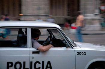 Una patrulla cubana.