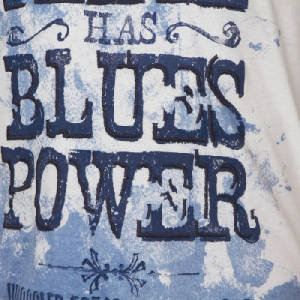 The only positive power: Blues power