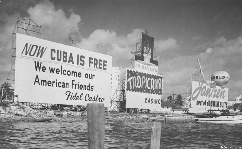 Early1960s billboard in Miami.  Photo: www.ft.com
