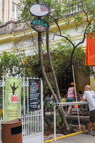 Most private cafes are opened with money that comes from relatives or friends abroad.
