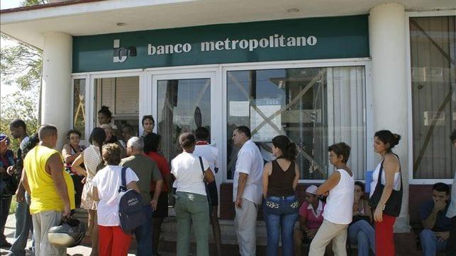 Cuba's Banco Metropolitano. Photo: eldiario.es
