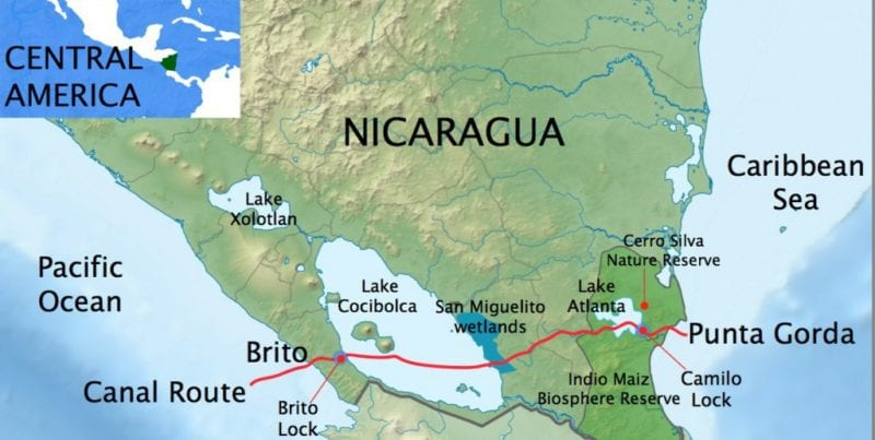 What Happened to the Nicaragua Canal Project Havana Timesorg