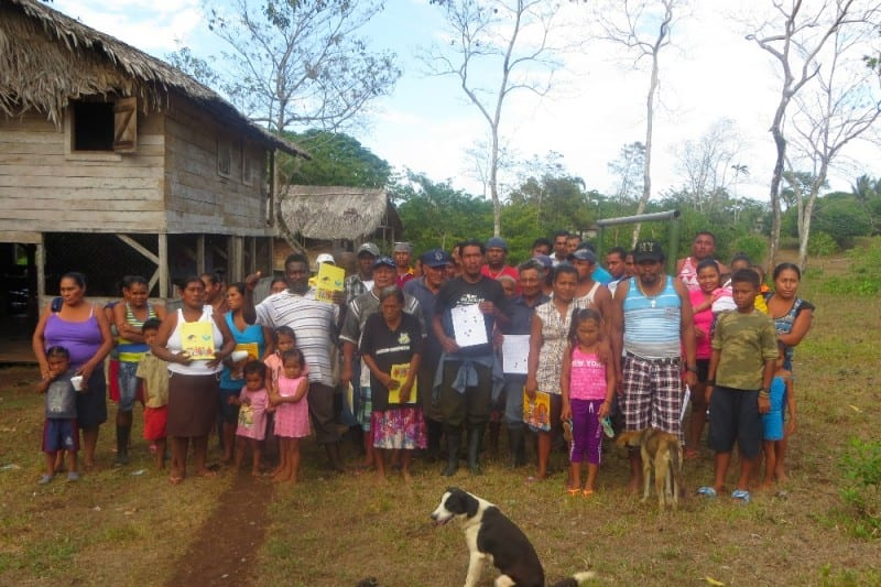 The Rama Kriol indigenous people are struggling to keep their land.